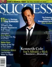 SUCCESS MAGAZINE封面